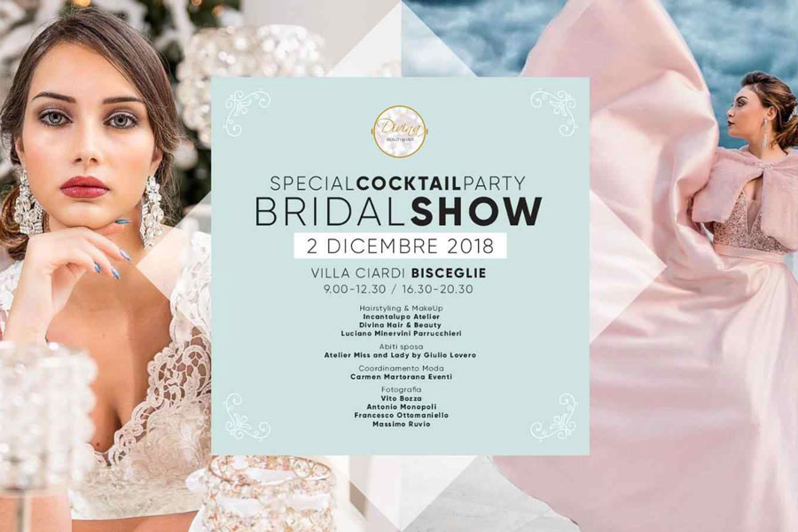 Cocktail Party con Bridal Show domenica 2 dicembre
